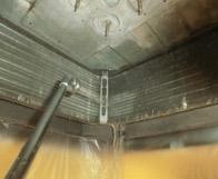洗浄中熱交換器